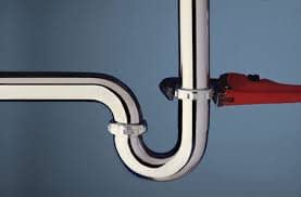 Pipe and a pipe wrench