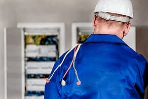 An electrical contractor