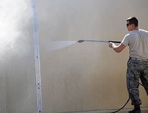 an electric power washer